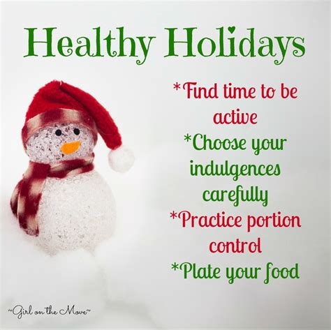 12 Tips On What You Eat During Holidays by Healthy Tips On The Move