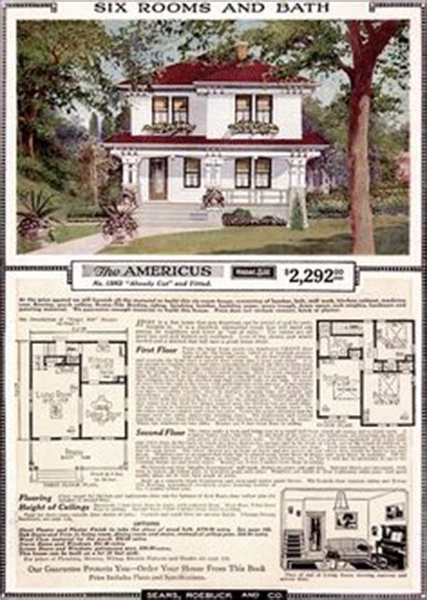 the woodland by sears modern homes 1923 foursquare kit 1000 images about exterior foursquare on pinterest