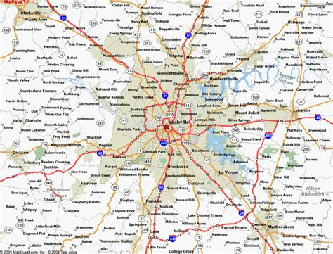 map of nashville map of nashville tn