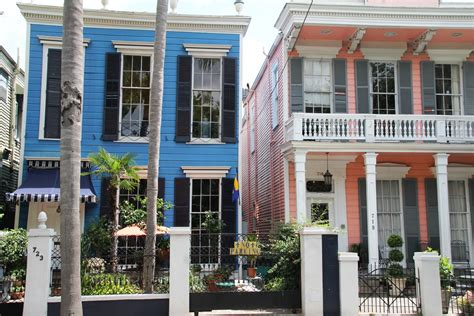 new orleans colorful houses new orleans tales and travel