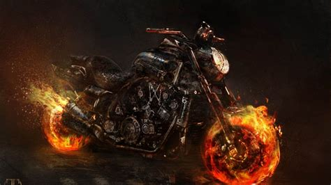 Ghost Rider Bike Live Wallpaper by Ghost Rider Wallpaper Bike Ghost Rider Artwork Yamaha
