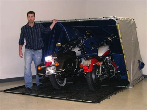 Motorcycle Portable Garage by Looking For Answers About Outdoor Escapes 174 Outdoor Escapes