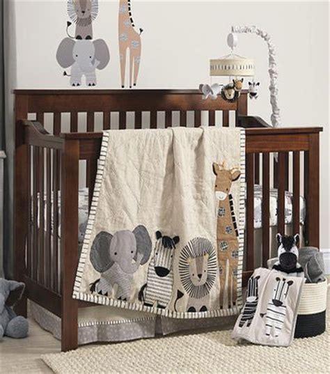 Lambs And Safari Crib Bedding by Lambs Signature Tanzania Gray Safari 4