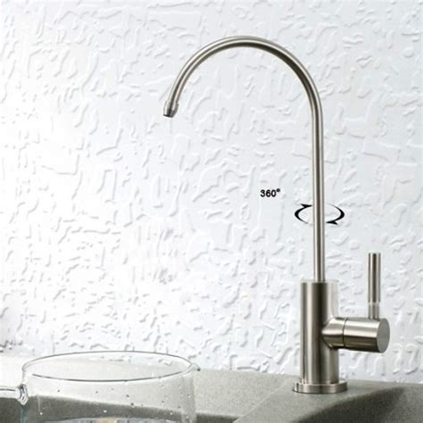 Stainless Steel Water Filter Faucet by Lead Free Stainless Steel Water Filter Faucet