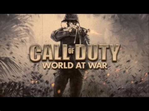theme music world at war call of duty world at war song russian theme