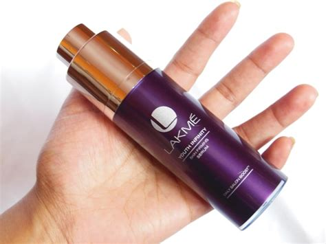 lakm youth infinity range products price list lakme youth infinity skin firming serum review beauty