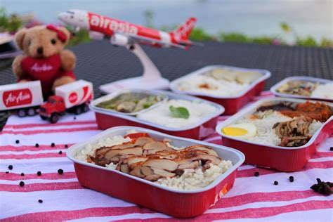 airasia hot meals airasia santan menu and mycorporate first time travels