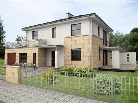 la casa 2 fachadas de casas de 2 pisos part 5