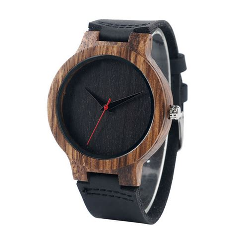 montre en bois pour homme pas cher montre bois a partir de 39