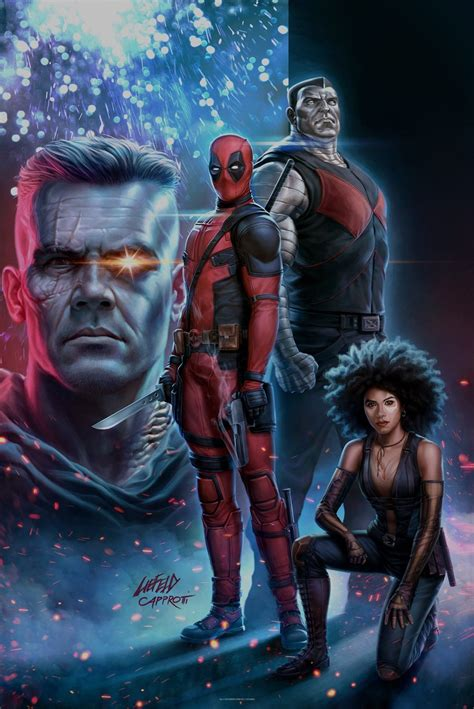 deadpool 2 poster deadpool 2 rob liefeld draws new poster