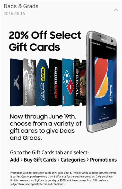 Gamestop Gift Card Discount - samsung pay 20 off best buy gamestop southwest more doctor of credit