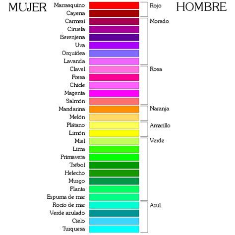 color con h 191 cuantos colores existen non el imperfecto