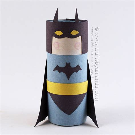 Crafts You Can Do With Toilet Paper Rolls - 1000 ideas about batman crafts on pencil