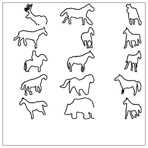 Animal Outlines For by Animal Outline Templates Image Search Results