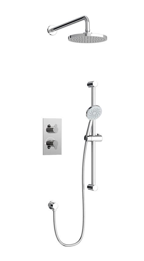 britton thermostatic 2 way diverter valve with shower