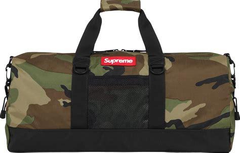 supreme bag supreme contour duffle bag camo duffle bags