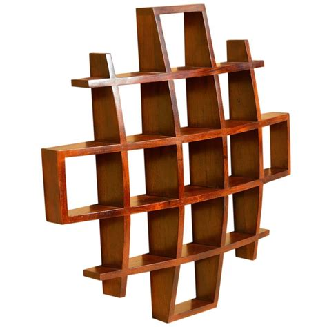 contemporary wooden shelves contemporary wood display wall hanging shelves home decor