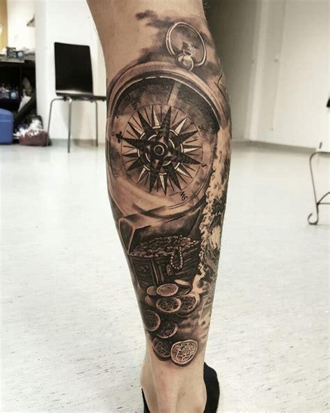 tattoo compass leg 85 best images about tattoos on pinterest