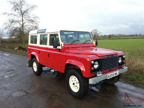 original land rover 1984 land rover 110 county station wagon original