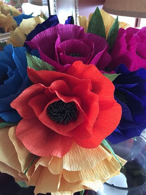 Handmade Crepe Paper Flowers - 17 best images about my work on paper bows