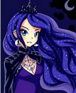 fanart princess luna human poll results pony