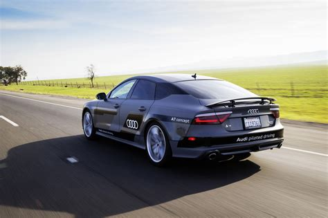 Audi A7 Concept by Audi A7 Sportback Piloted Driving Concept 01 2015