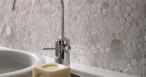 circle backsplash tile mosaic tiles bathroom