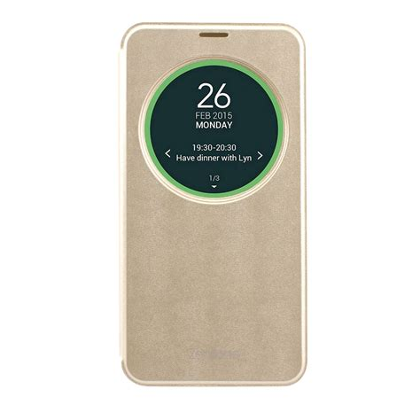 Flip Cover Zenfone Ori asus zenfone 2 view flip cover for ze551ml with nfc gold expansys australia