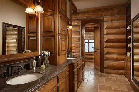 Log Cabin Bathroom by Log Cabin Bathroom Bathroom Ideas