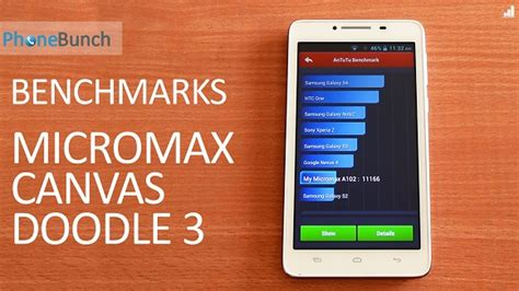 how to use otg in micromax doodle 3 micromax canvas doodle 3 a102 benchmarks on antutu