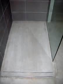 mode concrete modern open concept bathroom featuring a
