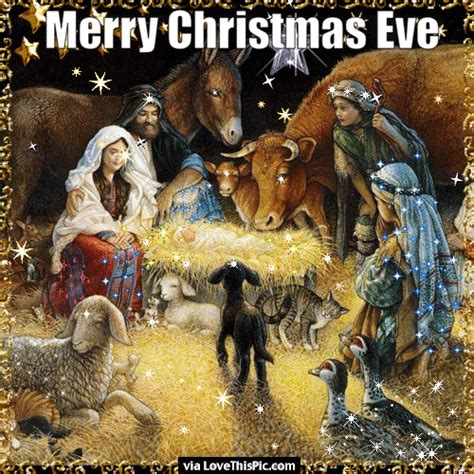 nativity scene merry christmas eve gif quote pictures   images  facebook tumblr