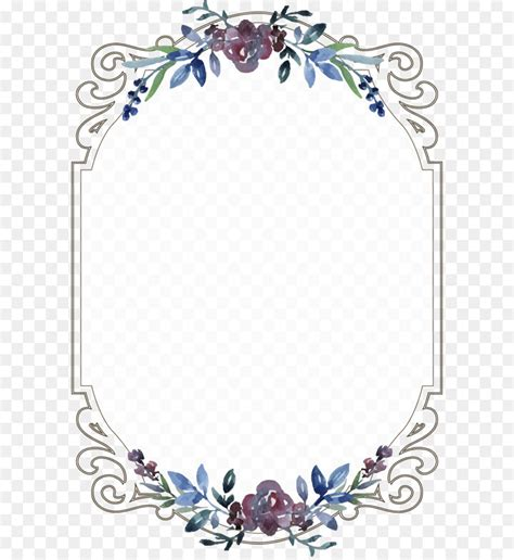 Wedding Border Clipart Vector Templates by Label Template Transparent Png Clip Image Borders