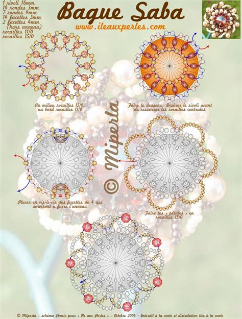 beaded brooch patterns free free pattern schema for pendant brooch ring magic