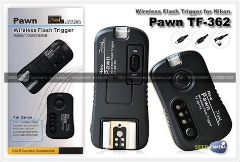 Promo Pixel Pawn Wireless Flash Trigger For Nikon pixel pawn wireless flash trigger for nikon tf 362 wireless accessory seedcamera
