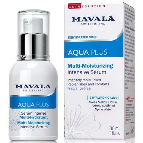 Serum Skin Aqua mavala aqua plus multi moisturizing intensive serum 52101 30ml
