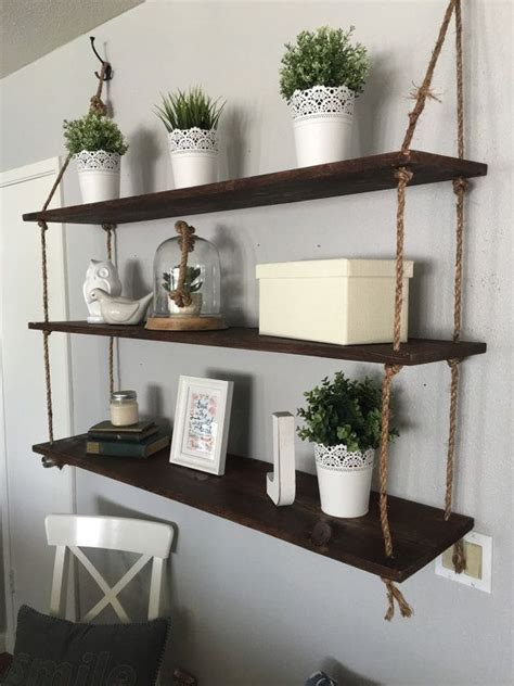 floating shelf set    ft long  uniquetaylormade
