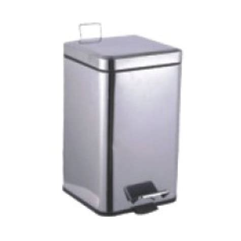 designer bathroom bin designer modern square bathroom waste bin 6l stainless steel