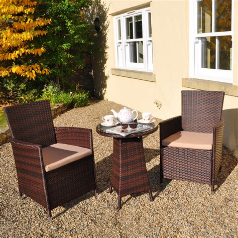 2 Seater Patio Set by Rattan Bistro 2 Seater Garden Patio Set