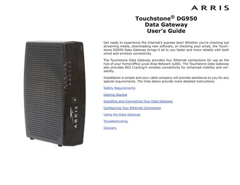 resetting wifi after power outage arris modem tm822 lights flashing decoratingspecial com
