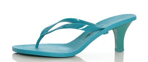 high heel flip flop aquarela s high heel jelly flip flops style 223 999