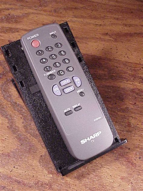 Remot Tv Sharp Lcdledtabung 5 sharp tv remote no g1324sa used cleaned and