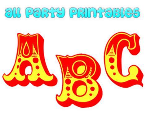 printable carnival fonts carnival letters etsy uk