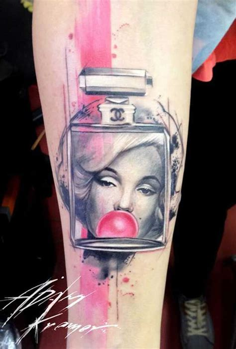 gum tattoo 45 iconic marilyn tattoos that will leave you in