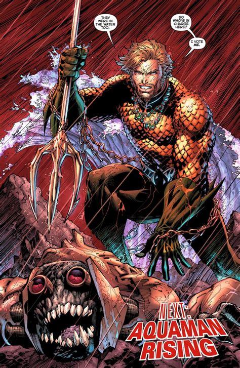 Aquaman Vol 1 The Trench The New 52 Graphic Novel Ebooke Book aquaman borg