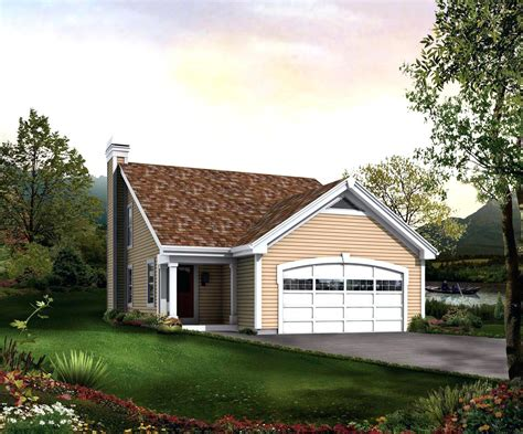 House Plans Garage by Small House Plans With Garage Home Designs No Garagetiny