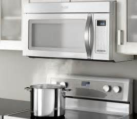 Oven Cabinet Clearance Whirlpool 174 1 7 Cu Ft Over The Range Microwave With