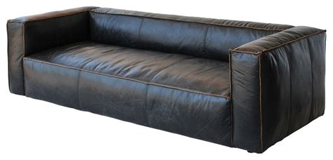 nolita reverse stitch 99 quot sofa transitional sofas by