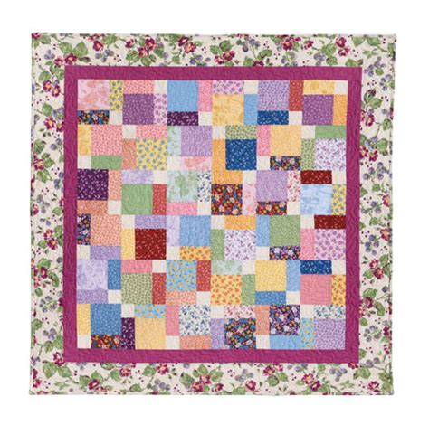 Autograph Quilt Patterns by Tossed Nine Patch Eleanor Burns Signature Quilt Pattern