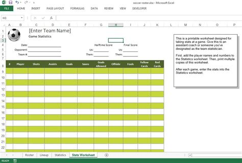 Soccer Roster Free Excel Template Excel Templates For Every Purpose Roster Template Excel